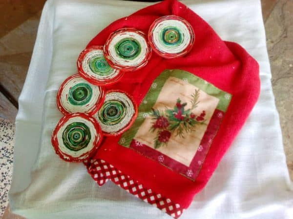 Christmas Decorations From Magazine Paper 5 • Recycling Paper & Books
