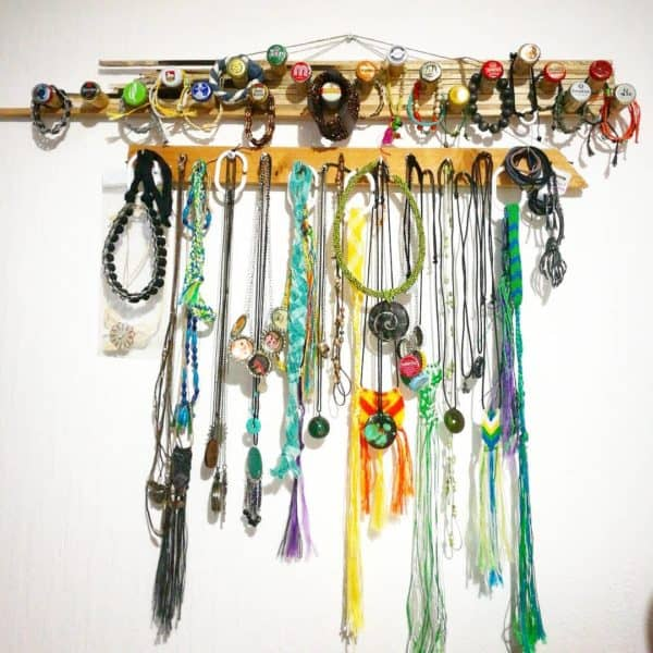 Upcycled Jewelry Hanger 1 • Accessories