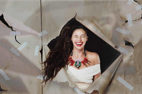 Frida Kahlo Recycled Necklaces 5 • Upcycled Jewelry Ideas