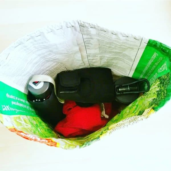 Upcycled Soil Bag Into Gym Bag 5 • Accessories