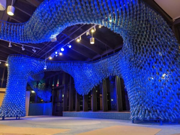 Mississippi Gyre: a Sculpture Made from 5,000 Recycled Plastic Bottles 5 • Recycled Art