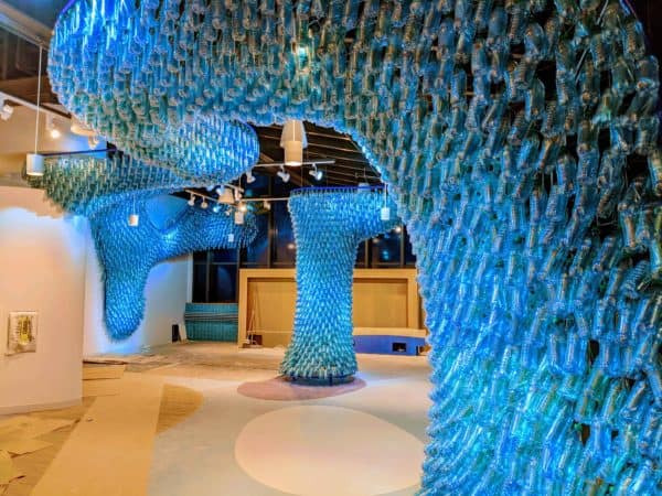 Mississippi Gyre: a Sculpture Made from 5,000 Recycled Plastic Bottles 3 • Recycled Art