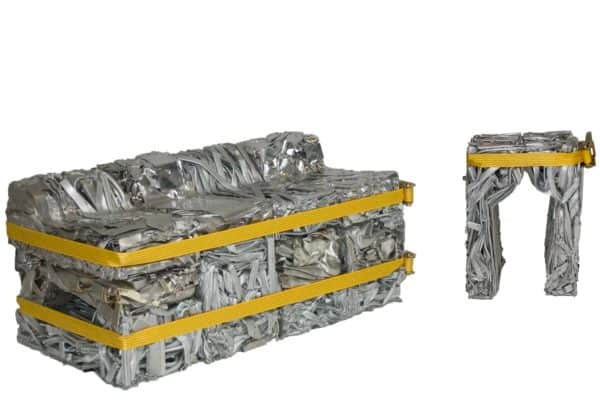 Pressed Aluminum Furniture 1 • Recycled Furniture