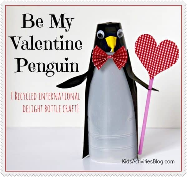 Recycled (Be My) Valentine Craft 1 • Recycled Plastic