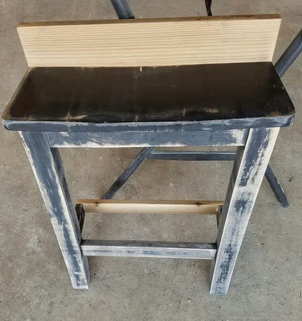 Repurposed Wood Chair Turned Shelf 7 • Recycled Furniture