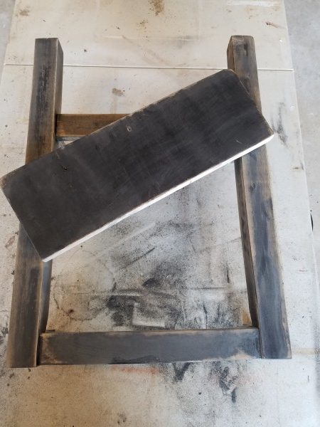 Repurposed Wood Chair Turned Shelf 5 • Recycled Furniture