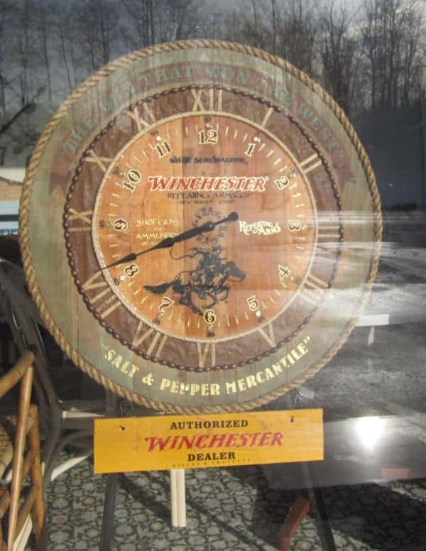 The S&p Winchester Clock 1 • Wood & Organic