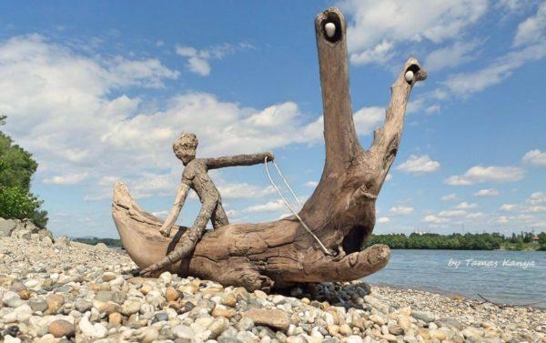 The Reincarnation of Driftwood by Tamas Kanya 7 • Wood & Organic
