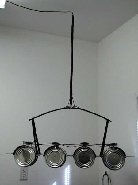 "Lamp ""Ican"" Hanging Light 13 • Lamps & Lights"