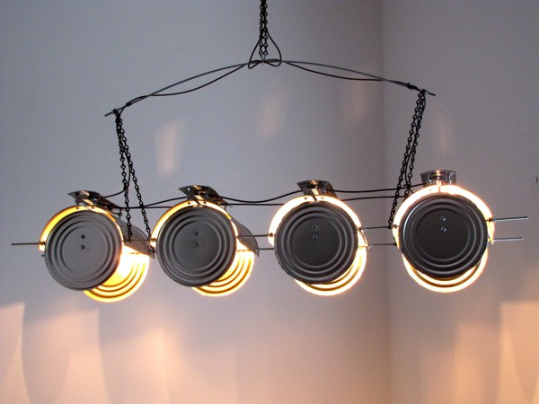 "Lamp ""Ican"" Hanging Light 3 • Lamps & Lights"