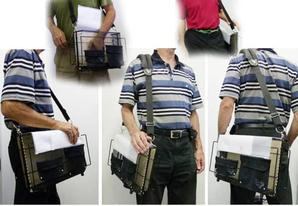 Metal Messenger Bag 11 • Accessories