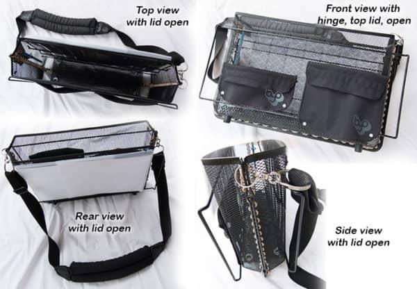 Metal Messenger Bag 5 • Accessories