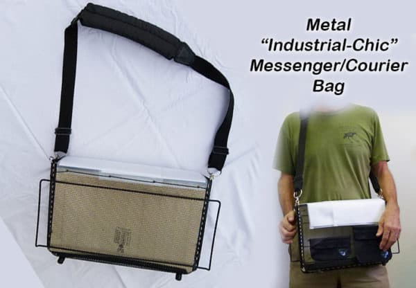 Metal Messenger Bag 1 • Accessories