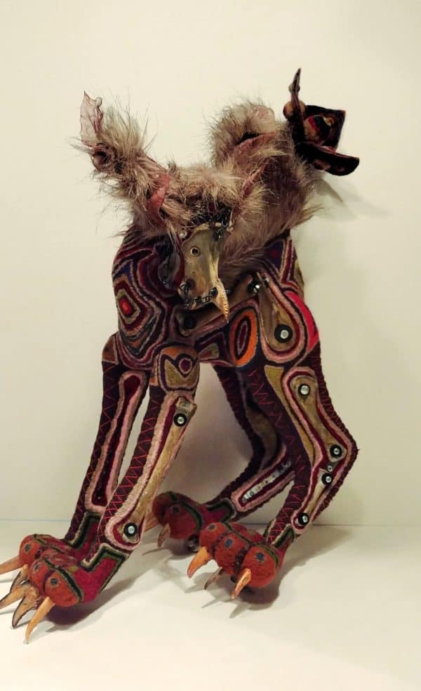 Exos: Recycled Sculpture 1 • Recycled Art