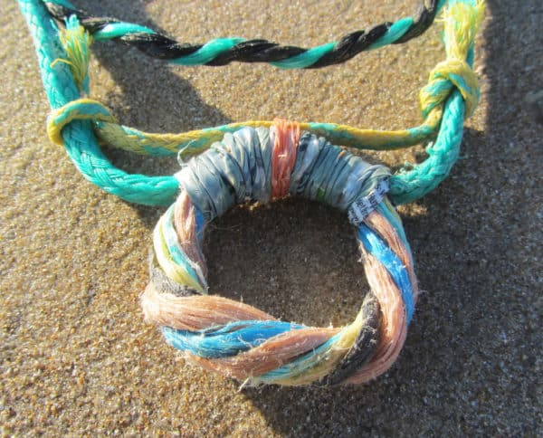 Recycled Fishing Rope Into Necklace 5 • Accessories