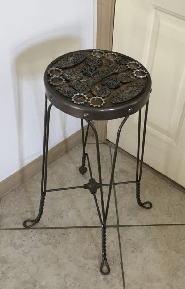 Upcycled Barstool 1 • Recycled Furniture