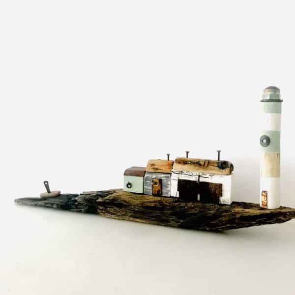 Driftwood Nautical Decor 17 • Recycled Art