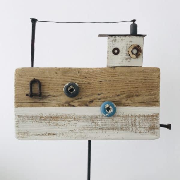 Driftwood Nautical Decor 5 • Recycled Art