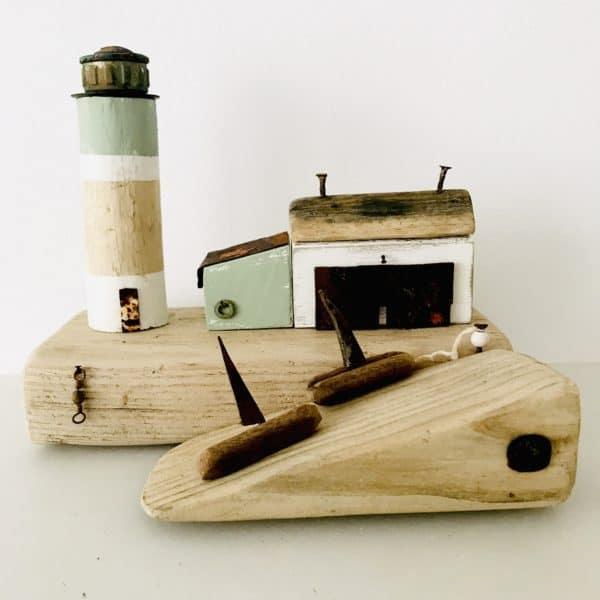 Driftwood Nautical Decor 1 • Recycled Art