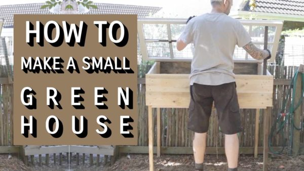 How To Make A Mini Greenhouse From Reclaimed Wood 1 • Garden Ideas
