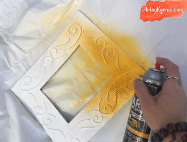 Easy DIY: Make a Decorative Framed Mirror Using Recycled Cardboard and a Glue Gun 13 • Recycled Cardboard