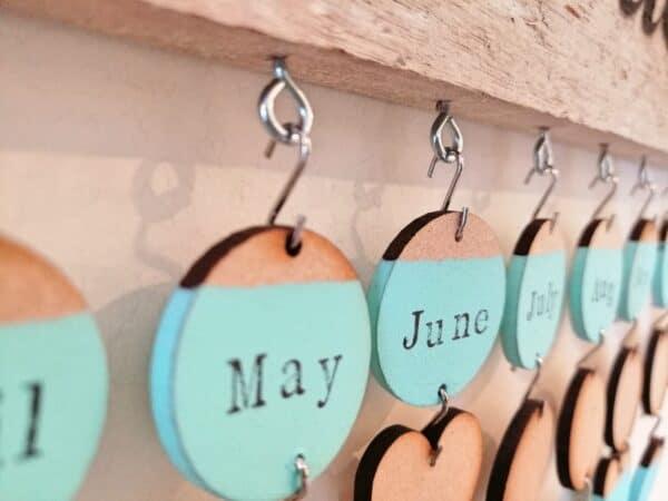 Cornish Driftwood Celebrations Calendar 5 • Wood & Organic