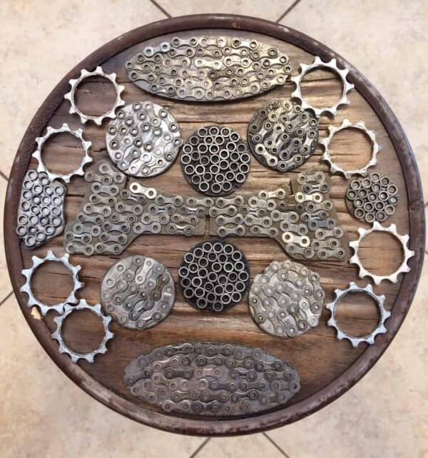 Bicycle Chain Is Not Just For Bikes 11 • Upcycled Bicycle Parts