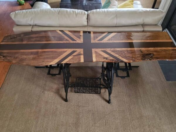 Sewing Machine Base Table 1 • Recycled Furniture