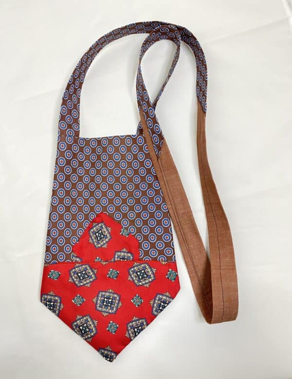 Displayable & Wearable Fashion: Bags From Neckties 17 • Accessories