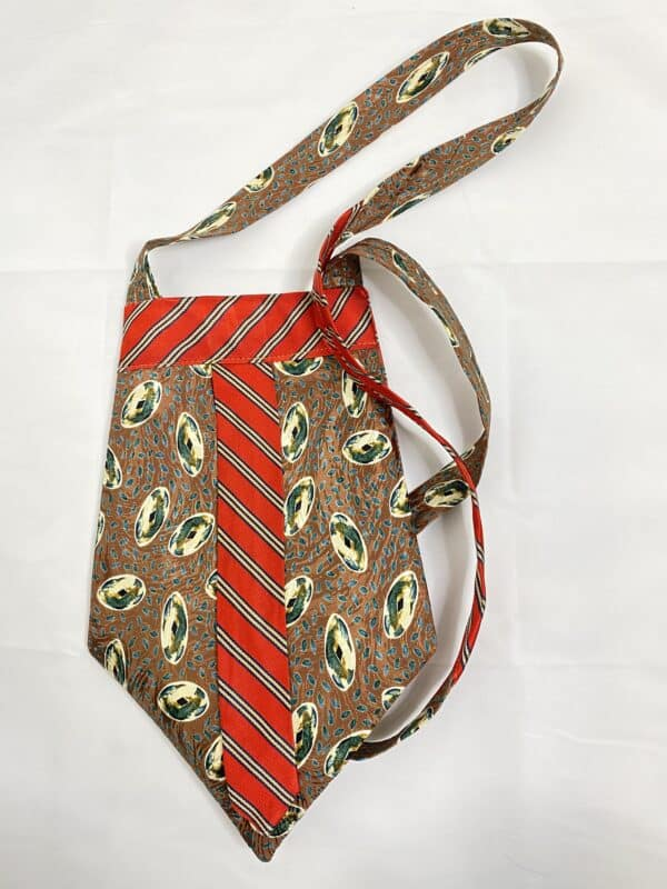 Displayable & Wearable Fashion: Bags From Neckties 13 • Accessories