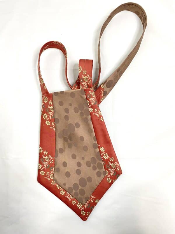 Displayable & Wearable Fashion: Bags From Neckties 11 • Accessories