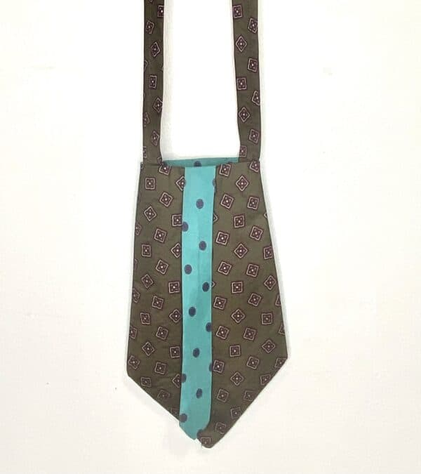Displayable & Wearable Fashion: Bags From Neckties 7 • Accessories