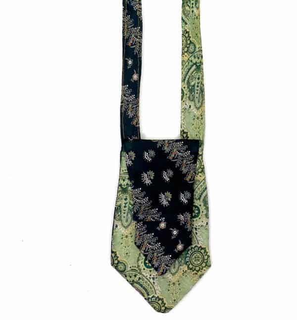 Displayable & Wearable Fashion: Bags From Neckties 1 • Accessories