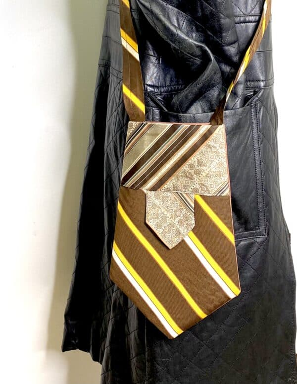 Displayable & Wearable Fashion: Bags From Neckties 5 • Accessories
