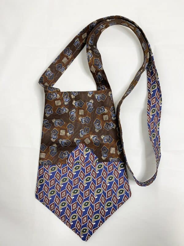 Displayable & Wearable Fashion: Bags From Neckties 3 • Accessories
