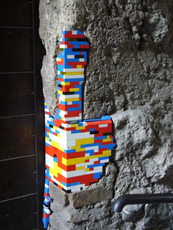 Lego Patches 5 • Recycled Art