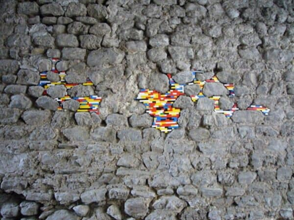 Lego Patches 3 • Recycled Art