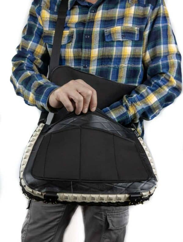 Handmade Messenger Bag From Upcycled Tires 11 • Accessories