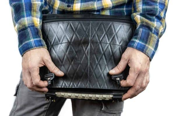 Handmade Messenger Bag From Upcycled Tires 3 • Accessories