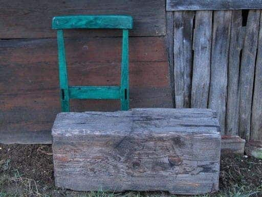 Lumber Chair 1 • Recycled Furniture