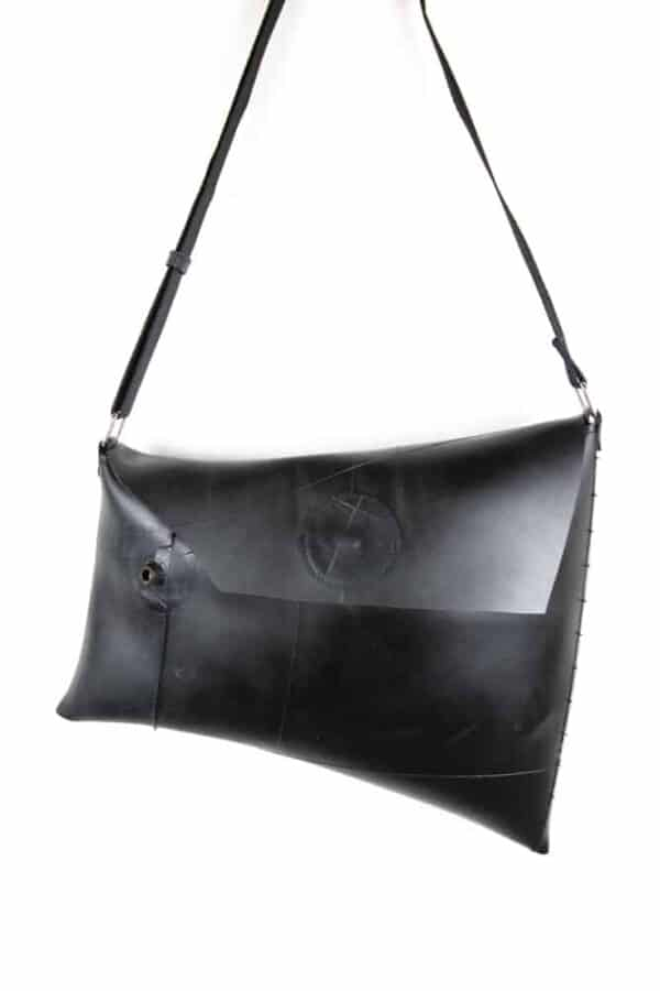 Upcycled Innertube Crossbody Bag 3 • Accessories