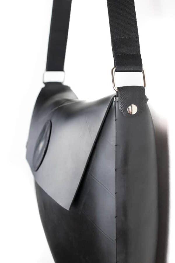 Upcycled Innertube Crossbody Bag 5 • Accessories