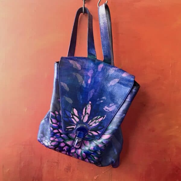 Painting on Secondhand Handbags 17 • Accessories