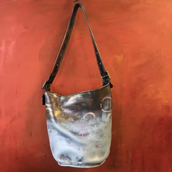Painting on Secondhand Handbags 15 • Accessories