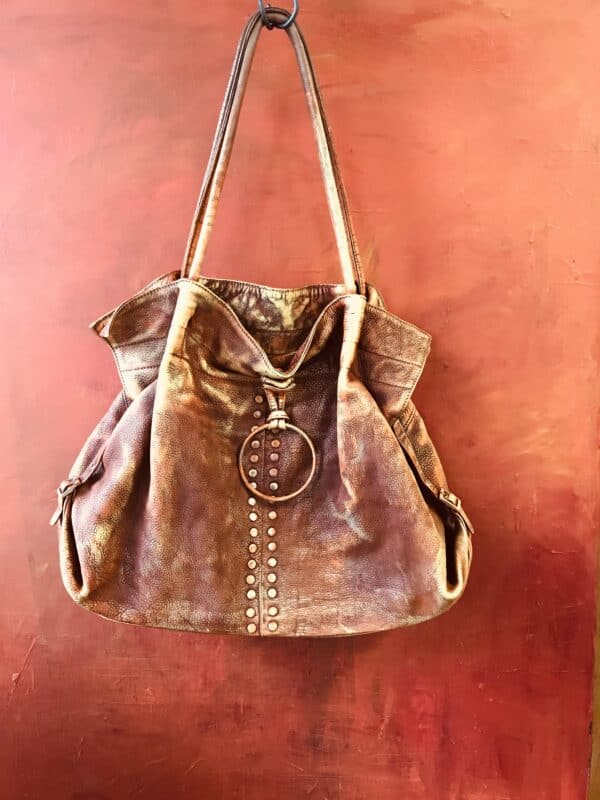 Painting on Secondhand Handbags 13 • Accessories