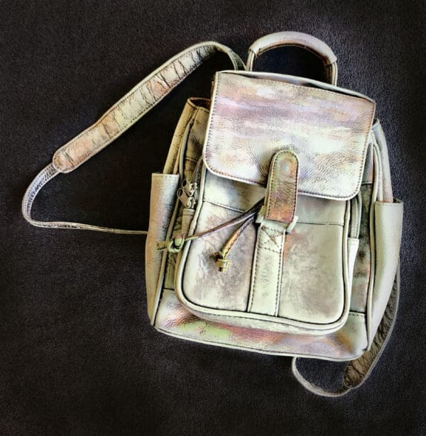 Painting on Secondhand Handbags 11 • Accessories