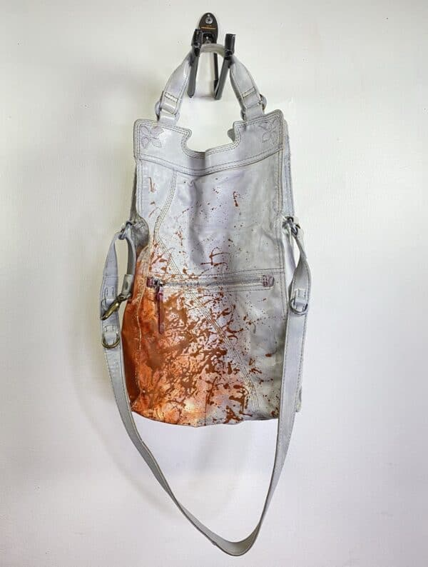 Painting on Secondhand Handbags 9 • Accessories