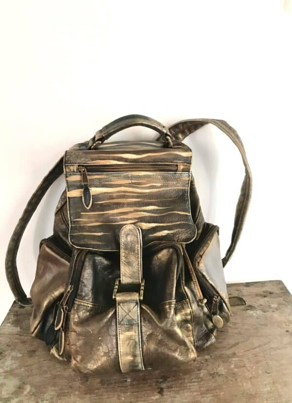 Painting on Secondhand Handbags 1 • Accessories