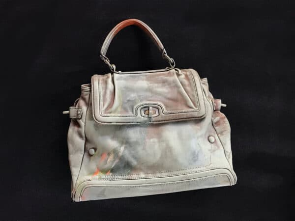 Painting on Secondhand Handbags 7 • Accessories