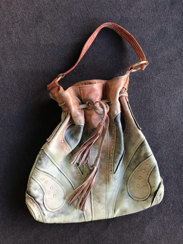 Painting on Secondhand Handbags 5 • Accessories